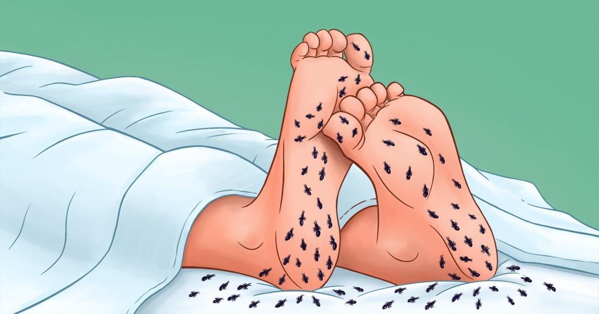 ceea ce este un semn al picioarelor neliniștite